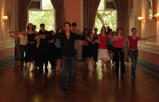 Brendan Cole teaches @ KDS